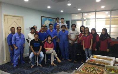 Office gathering – 21 April 2017