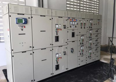 Control panel manufactured locally by CE Industrial (B) Sdn Bhd