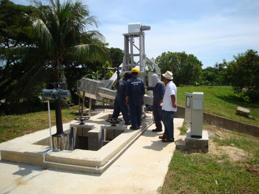 Supply and Install Mechanical Inlet Screen & Grit Detritor at Serasa Oxidation Ponds