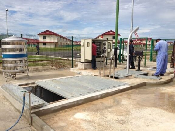 Sewerage Pumping Stations and Treatment Plant Mechanical and Electrical Maintenance Works